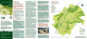 Laurie Lee Wildlife Way Map