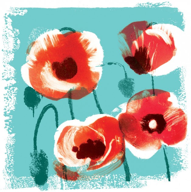 Poppies for LUSH