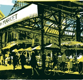 Friday morning Borough Market