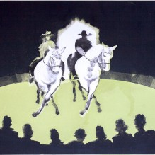Giffords Circus – Jack and Cartuchio do the the Dosey Doe