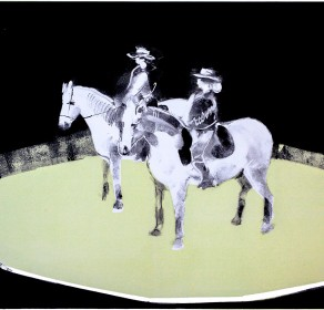 Giffords Circus, Jack and Cartuchio, Line Dancing